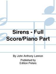 Sirens - Full Score/Piano Part