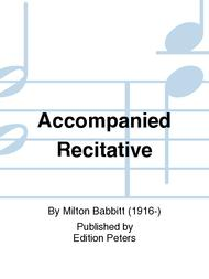 Accompanied Recitative