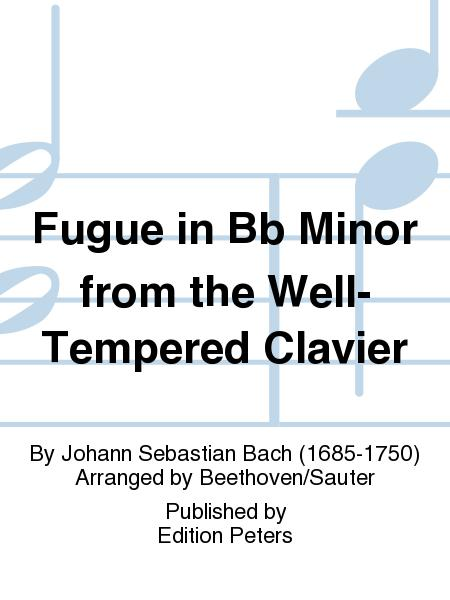 Fugue in Bb Minor from the Well-Tempered Clavier