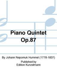 Piano Quintet Op. 87