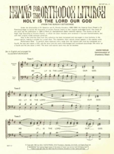Holy Is the Lord Our God (8 Tones)