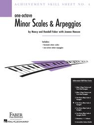 Achievement Skill Sheet No. 4: One-Octave Minor Scales & Arpeggios