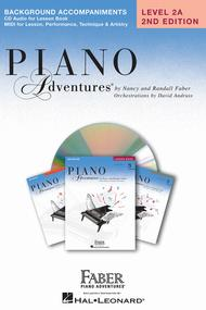Piano Adventures Level 2A - Lesson Book CD