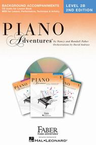 Piano Adventures Level 2B - Lessons Book CD