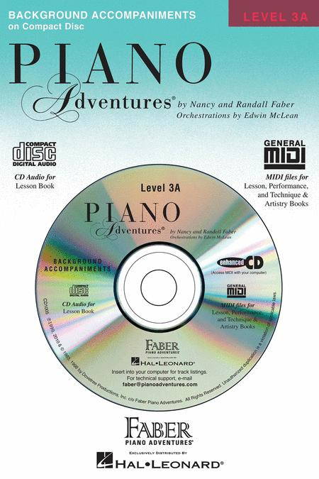 Piano Adventures Level 3A - Lesson Book CD
