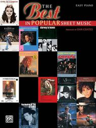 Best In Popular Sheet Music