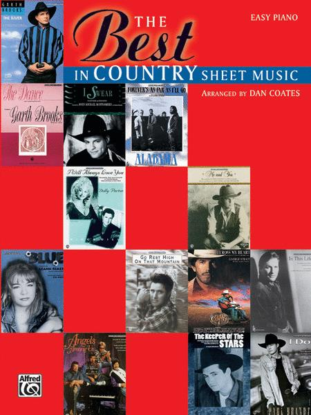 The Best In Country Sheet Music  - Easy Piano