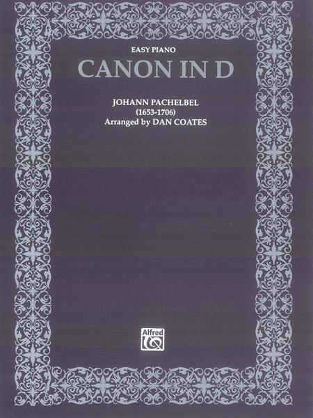 Canon In D - Easy Piano