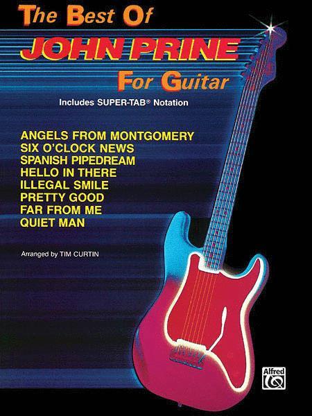 The Best Of John Prine For Guitar - Easy Guitar