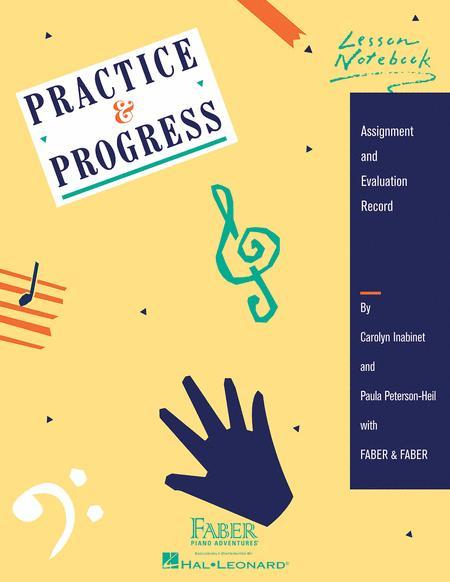 Practice & Progress Lesson Notebook