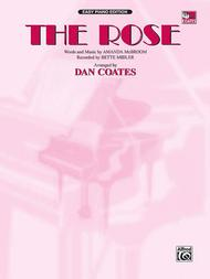 The Rose - Easy Piano