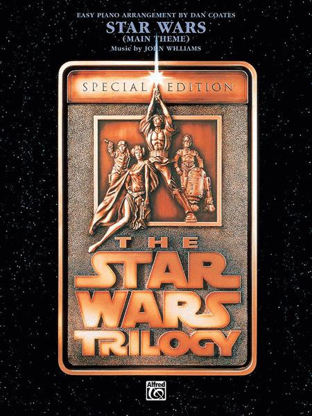 Star Wars Main Theme Easy Piano Sheet Music By John Williams