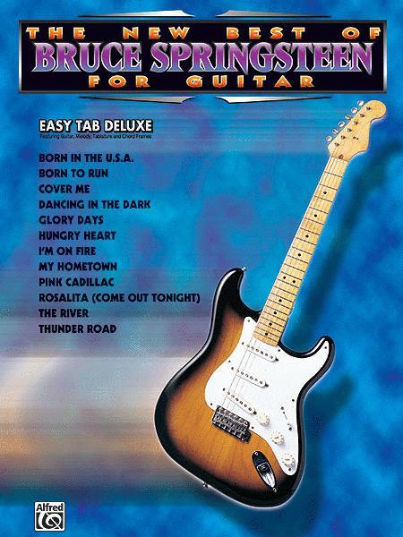 The New Best Of Bruce Springsteen For Easy Guitar