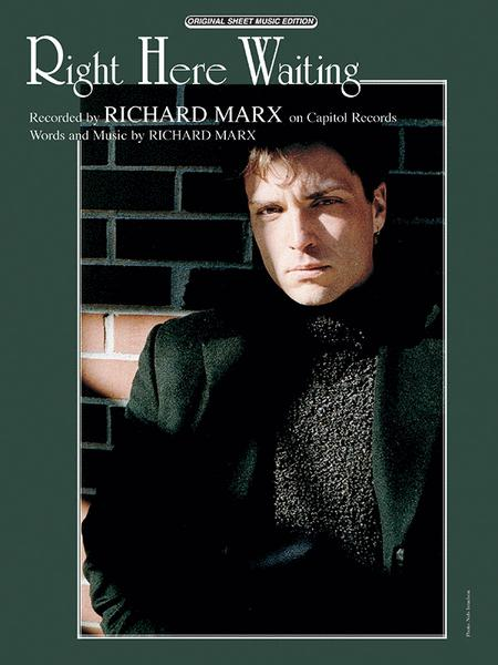 Right Here Waiting Sheet Music By Richard Marx Sheet Music Plus