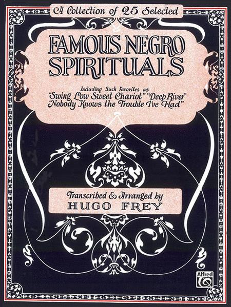 Famous Negro Spirituals