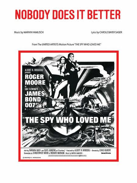 Nobody Does It Better (from The Spy Who Loved Me)