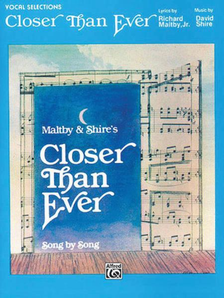 Closer Than Ever - Vocal Selection