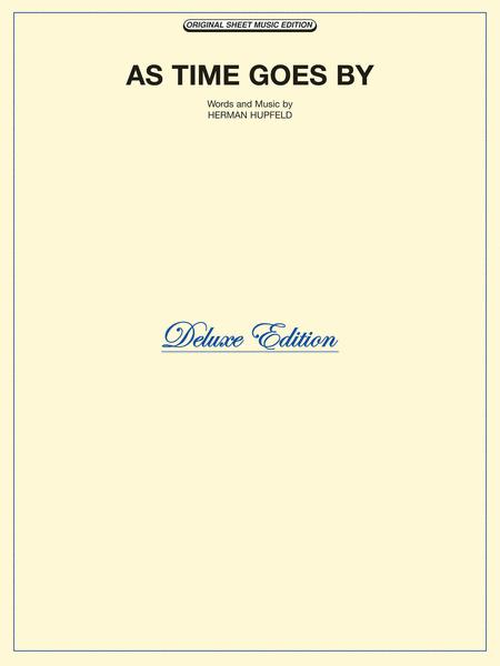 As Time Goes By Sheet Music By Herman Hupfeld Sheet Music Plus
