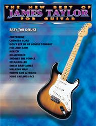 The New Best Of James Taylor For Guitar - Easy Guitar