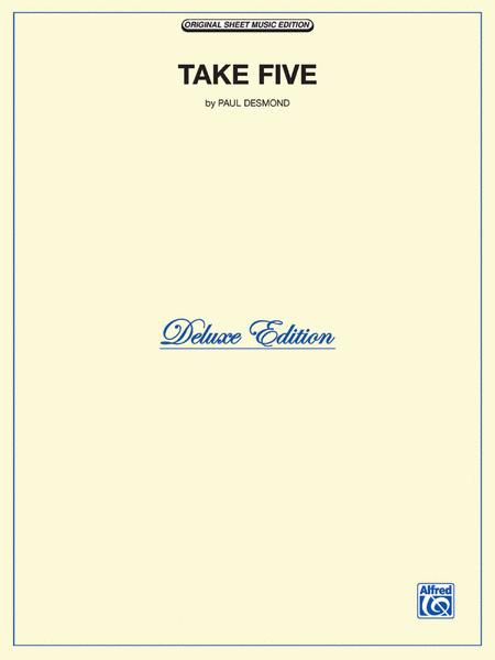 Take Five Piano Solo Sheet Music By Dave Brubeck Quartet Sheet