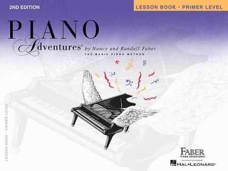 Faber Piano Adventures Primer Level Method Book