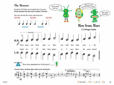 Piano Adventures Primer Level - Lesson Book (2nd Edition