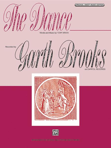 The Dance Sheet Music By Garth Brooks - Sheet Music Plus