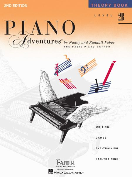 Piano Adventures Theory Book, Level 2B