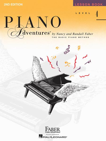 Piano Adventures Level 4 - Lesson Book