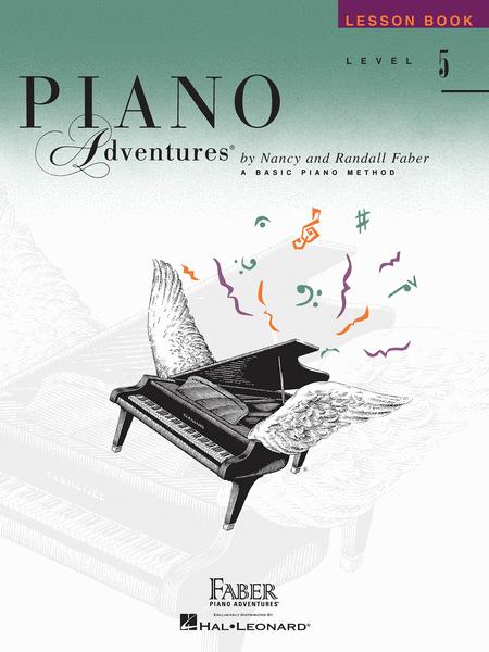 Piano Adventures Level 5 - Lesson Book