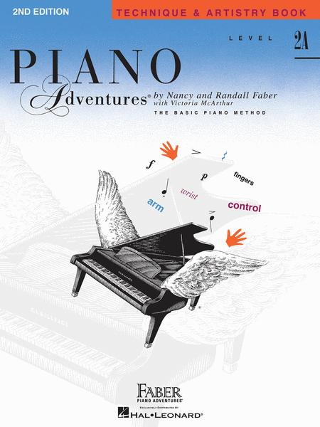 Piano Adventures Level 2A - Technique & Artistry Book