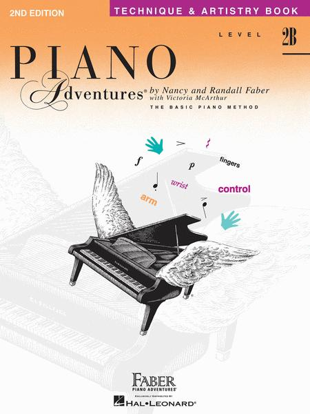 Piano Adventures Level 2B - Technique & Artistry Book
