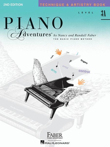 Piano Adventures Level 3A - Technique & Artistry Book (2nd Edition)