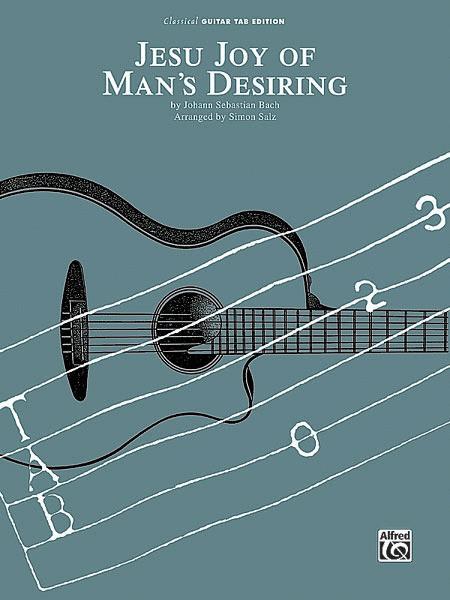 Jesu, Joy of Man's Desiring - Guitar Tablature