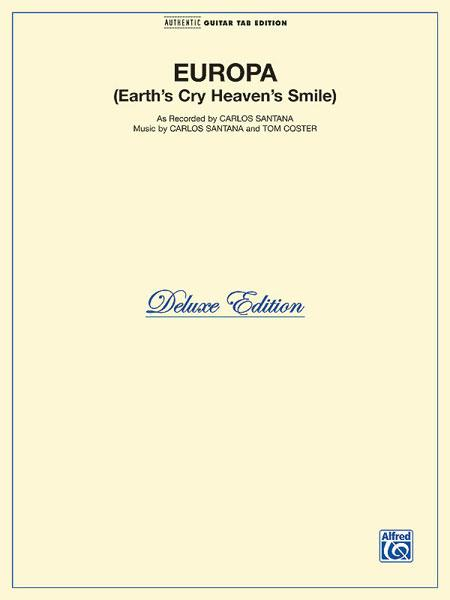 Europa - Earth's Cry Heaven's Smile