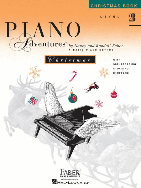 Piano Adventures Level 2B - Christmas Book