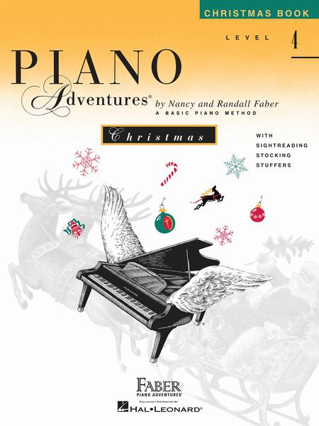Piano Adventures Level 4 - Christmas Book