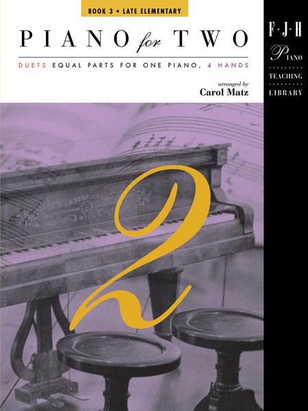 Piano for Two, Book 3