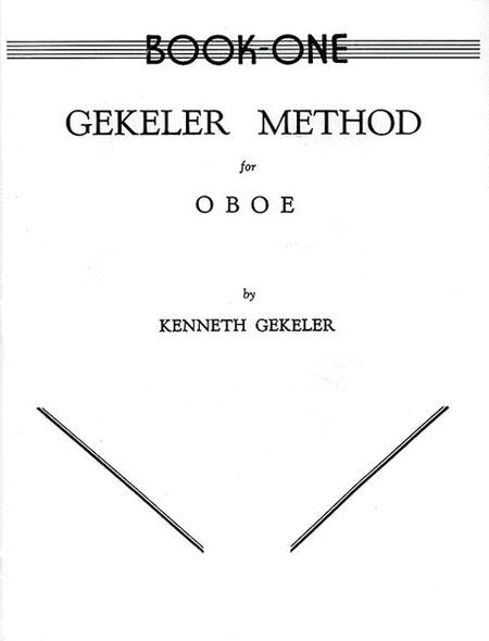 Gekeler Method for Oboe, Book 1