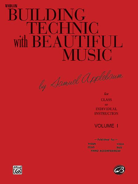 Building Technic With Beautiful Music, Book 1