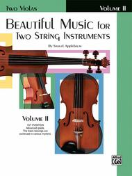 Beautiful Music For Two String Instruments, Book 2 (Two Violas)