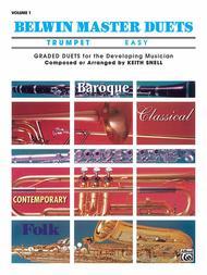 Belwin Master Duets (Trumpet), Volume 1