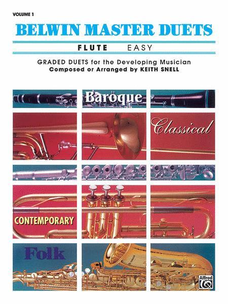 Belwin Master Duets (Flute), Volume 1