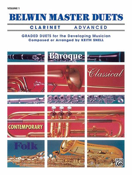 Belwin Master Duets - Advanced Volume 1 (Clarinet)