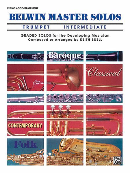 Belwin Master Solos (Trumpet), Volume 1