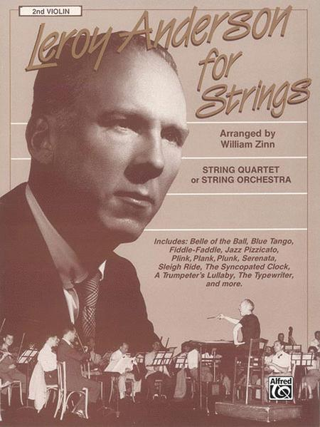 Leroy Anderson For Strings 2nd Violin