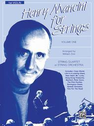 Henry Mancini for Strings, Volume 1