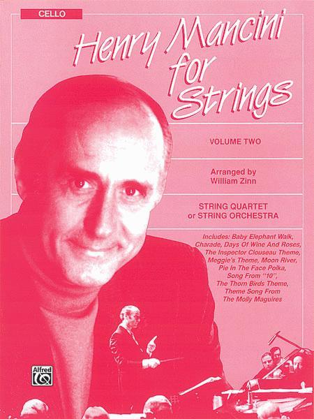 Henry Mancini for Strings, Volume 2
