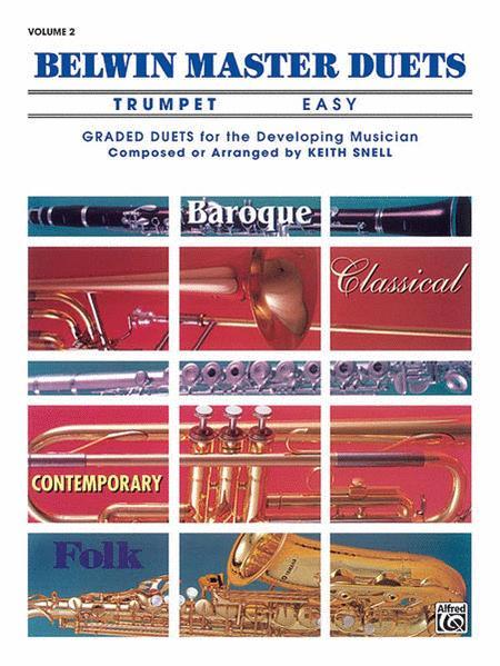 Belwin Master Duets (Trumpet), Volume 2