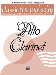 Classic Festival Solos (E-flat Alto Clarinet), Volume 1